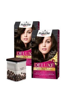 Palette 4-0 Kahve X 2 Adet + Turk Kahvesi