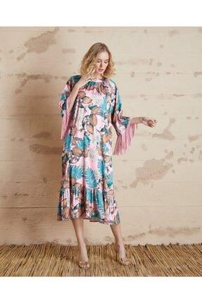 Serpil Çiçek Desenli Elbise