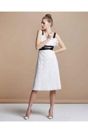 Serpil Grogren Kemerli Elbise