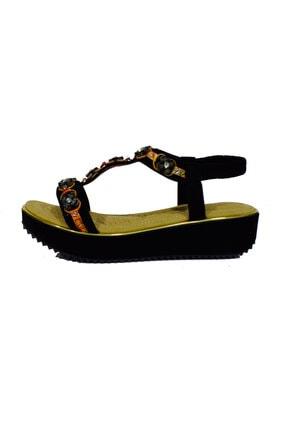 Guja Kadın Siyah Günlük Sandalet 20y237-11