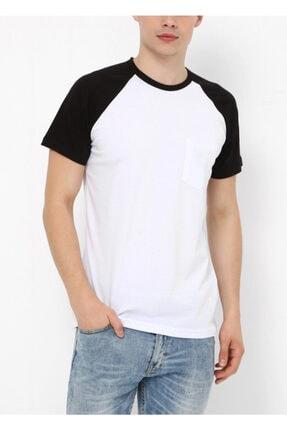 Köstebek Oldschool Düz Raglan Unisex T-shirt