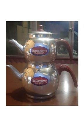 Alüminyum Tombik Yuvarlak Çaydanlık Imalattan 3 no çaydanlık