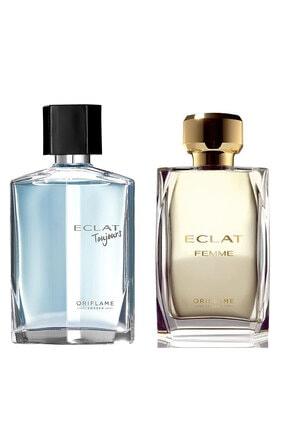Oriflame Eclat Kadın Erkek Set Edt 50 ml Parfüm Seti  8452365236521