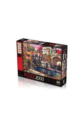 2000 Parça Puzzle Seti(love In Venice) 10 puzzle 2000 parça