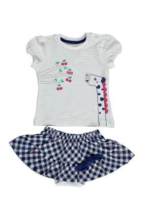 Fisher Price Yaz Kız Bebek Tatlı Kiraz Bluz-Etek Takım
