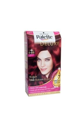 Palette Deluxe Kit Saç Boyası - 6-888 Sonbahar Kızılı
