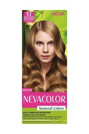 Neva Color Saç Boyası Seti 9.3 Açık Altın Sarısı 8698636612449