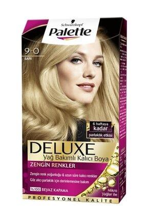 Palette Deluxe Kit Saç Boyası - 9-0 Sarı