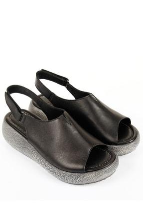 GÖN Gön Hakiki Deri Kadın Sandalet 45813