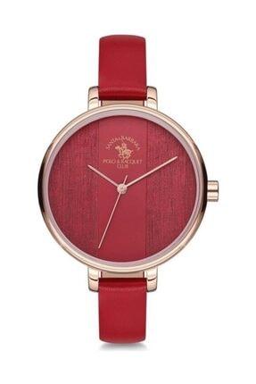 Santa Barbara Polo & Racquet Club Kırmızı Kadın Kol Saati