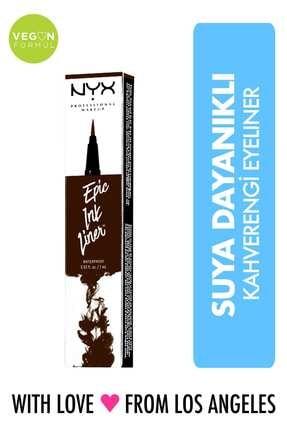 NYX Professional Makeup Kahverengi Eyeliner - Epic Ink Liner Brown 800897177478 800897177478