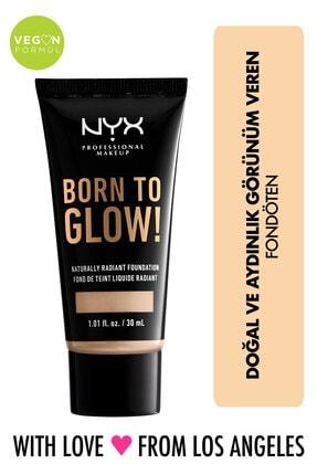 NYX Professional Makeup Fondöten - Born To Glow! Naturally Radiant Foundation 2 Alabaster 800897190309