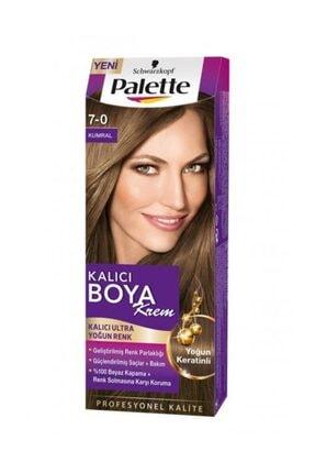 Palette Ultra Yoğun Kalıcı Saç Boyası 7-0 Kumral Saç Boyası