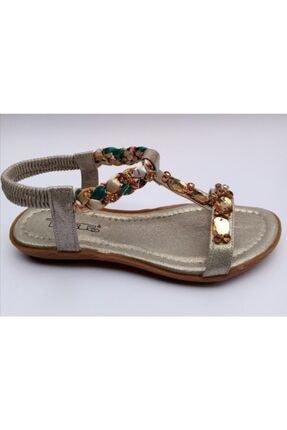 Punto Taşlı Kadın Sandalet*yeni Sezon