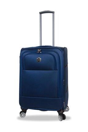 NK Orta Boy Kumaş Bavul Valiz