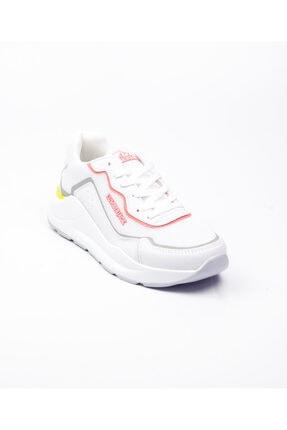 Lumberjack 100486522 Heidi Beyaz Kadın Sneaker Ayakkabı Beyaz-36