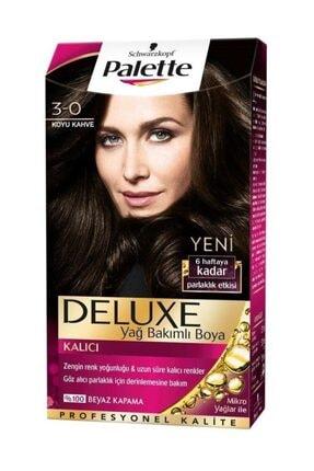 Palette Saç Boyası - Deluxe 3-0 Koyu Kahve 50 ml