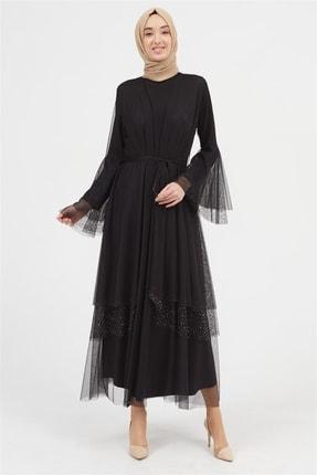Setrms Davetiye Abiye Elbise (siyah)