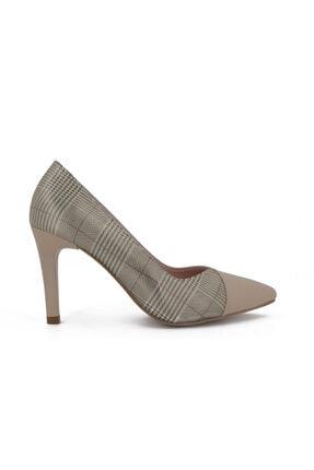 Hobby Stiletto Kadın Ayakkabı Ten   685