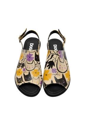 Dogo Cats Forever Kadın Sandalet