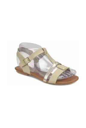 Art Bella CS18128 Bej Kadın Sandalet