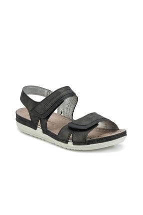 Polaris 161151.z Siyah Kadın Sandalet