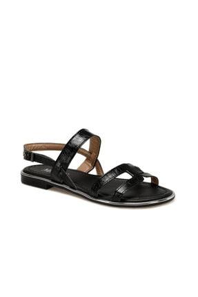 Missf Ds20023 Siyah Kadın Sandalet