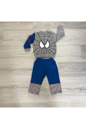 Örümcek Adam Baskılı Bebek Takımı cgt388