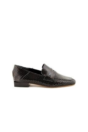 Rouge Siyah Yilan Kadın Casual Ayakkabı  201Rgk105 267