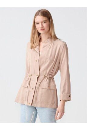 Dilvin Kadın Bej Ceket