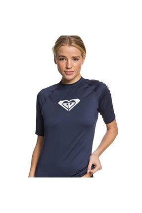 Roxy Kadın Lacivert Whole Hearted Ss J Sfsh Bsp0 T-shirt