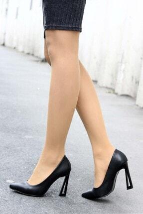 Fast Step Kadın Siyah Ince Topuk Ayakkabı 917za7002