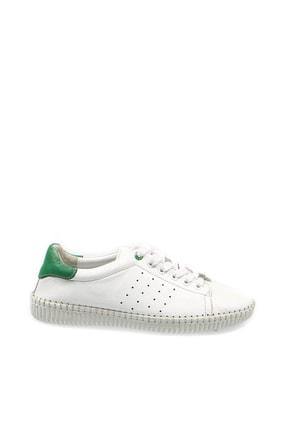 Hammer Jack Beyaz - Yeşil Kadın Ayakkabı 156 36311-Z