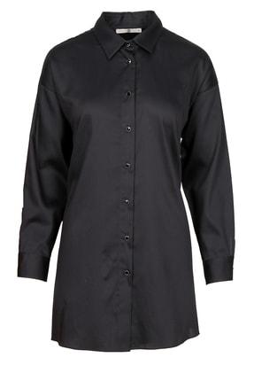 Seçil Kadın Scl Arkası Tül Detaylı Gömlek Tunik
