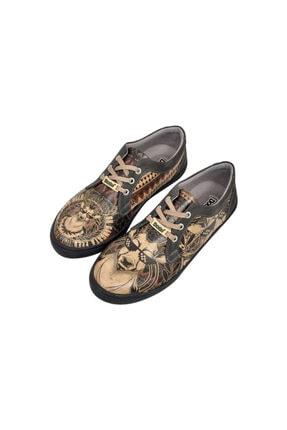 Dogo Pattern Thuglife Kadın Günlük Sneaker