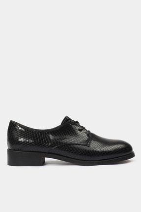 Hotiç Siyah Kadın Oxford Ayakkabı 01AYY177600A100
