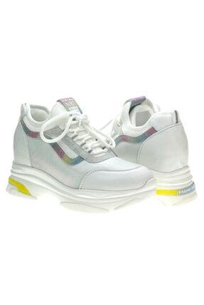 Guja 20y306-Beyaz Kadın Sneaker