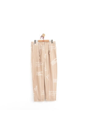 NK Kız Çocuk Halatlı Bol Paça Pantolon