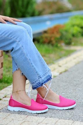 Pembe Potin Kadın Fusya Ayakkabı