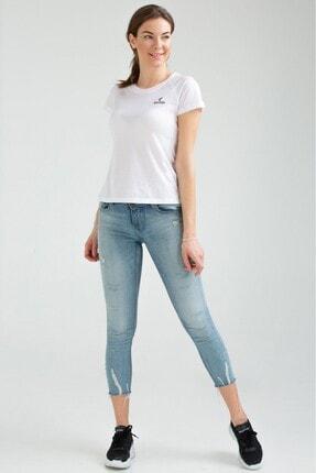 Speedlife Kadın Tişört Spedlife Leisure Beyaz