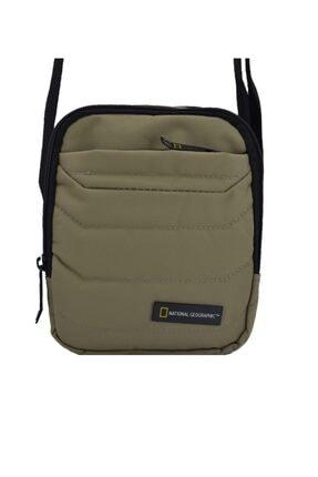 National Geographic Unisex Bej Utility Postacı Askılı Çanta