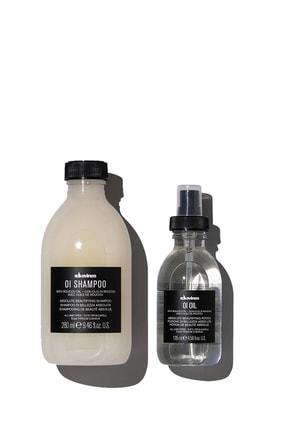 Davines Oi/oil Sülfatsız Şampuan 280ml + Yağ 135ml