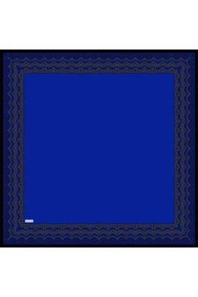Sarar Kenarı Yaldızlı Duz Renk Ipek Esarp 1682-30 90x90 Cm