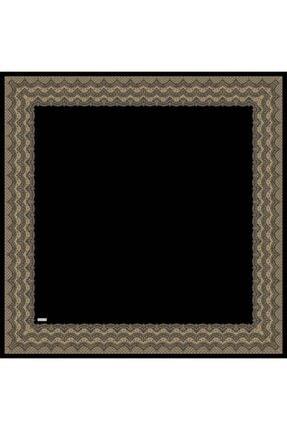 Sarar Kenarı Yaldızlı Duz Renk Ipek Esarp 1682-20 90x90 Cm