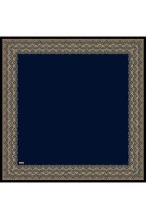 Sarar Kenarı Yaldızlı Duz Renk Ipek Esarp 1682-16 90x90 Cm