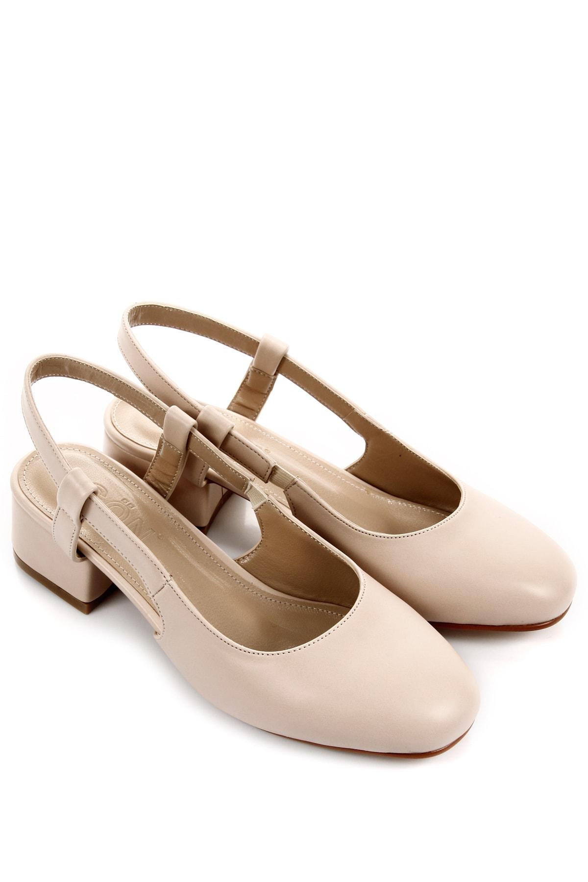 GÖN Krem Kadın Casual Ayakkabı DYZA53535360