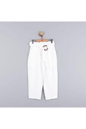 NK Kız Çocuk Beli Lastikli Salaş Kapri Pantolon