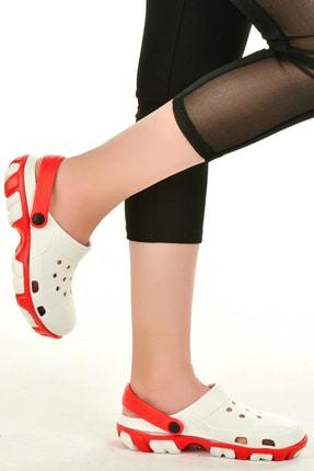 Muya Kadın Kırmızı Sabo Sandalet Terlik