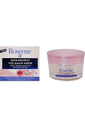 Rosense Nemlendirici Yüz Bakım Kremi Normal ve Karma Ciltler 50 ml