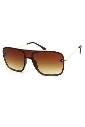 Belletti Unisex Kahverengi Güneş Gözlüğü Blt2096b